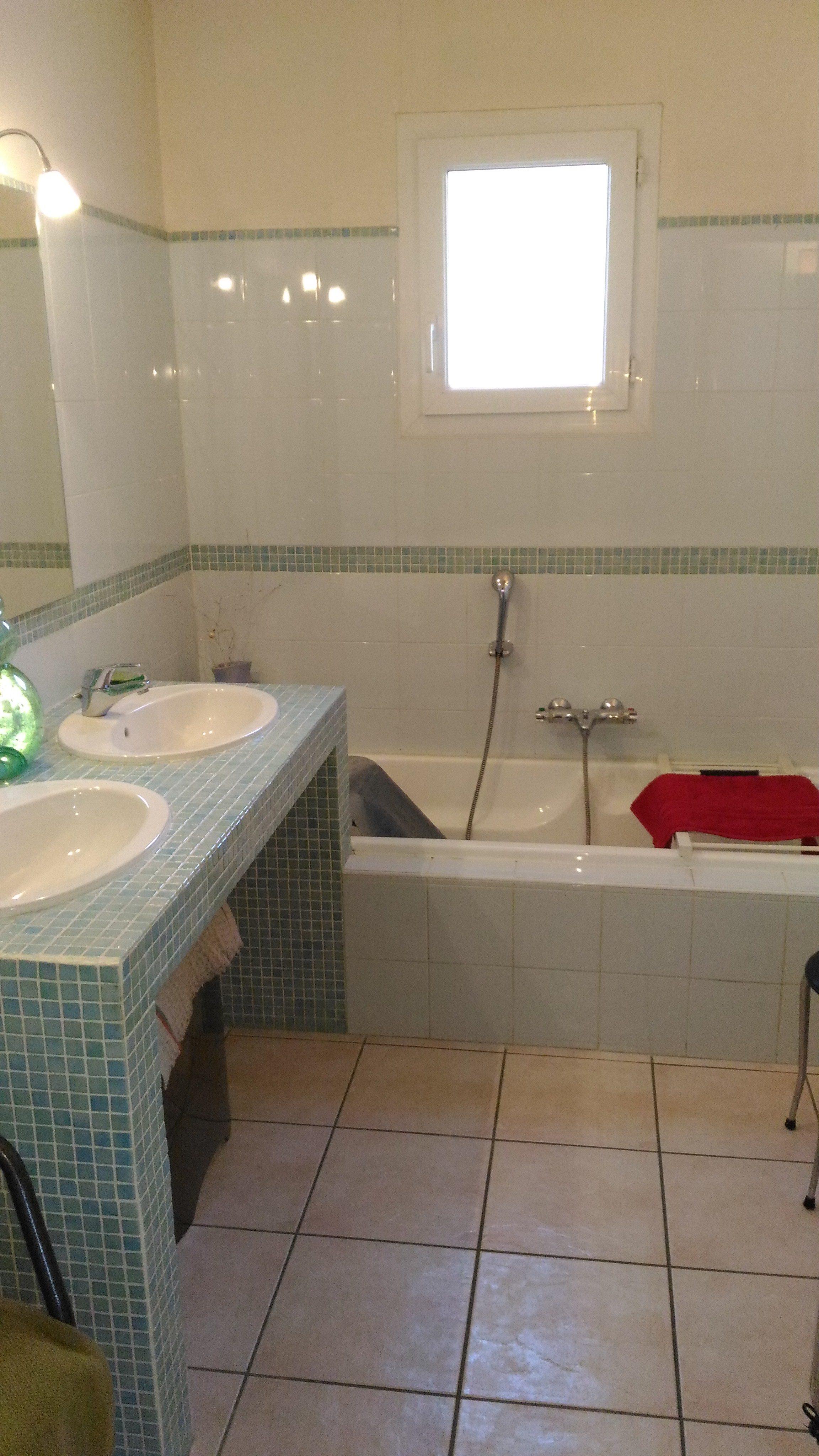 Photo d'une salle de bain avant aménagement