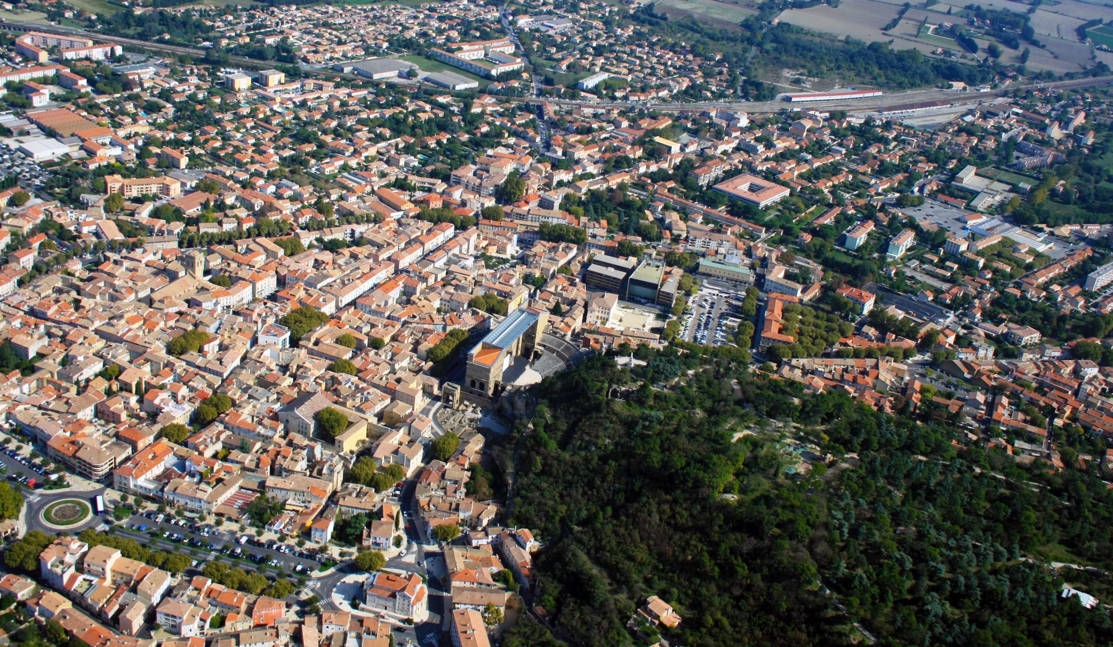 Centre-ville d'Orange